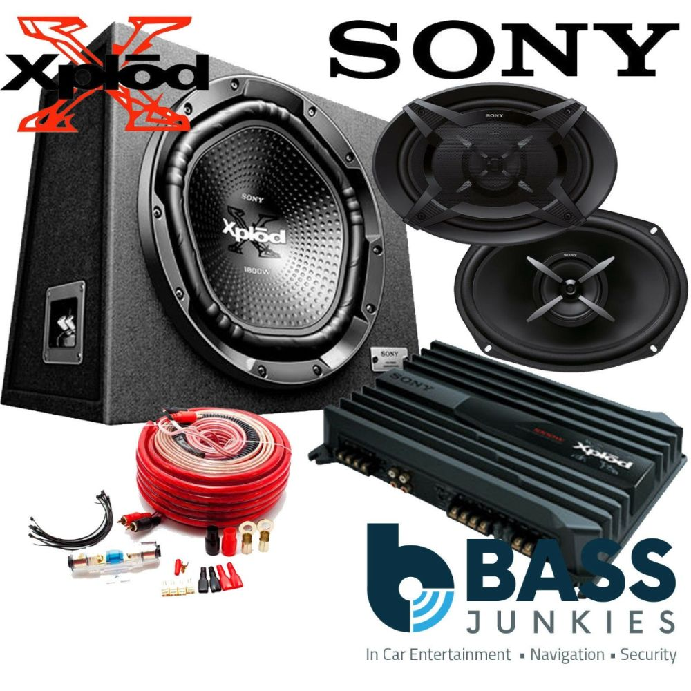 Subwoofer without amplifier for car