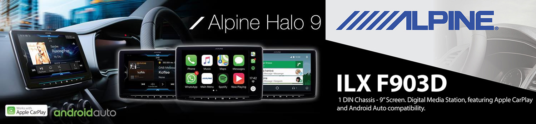 Alpine ILX-F903D HALO9
